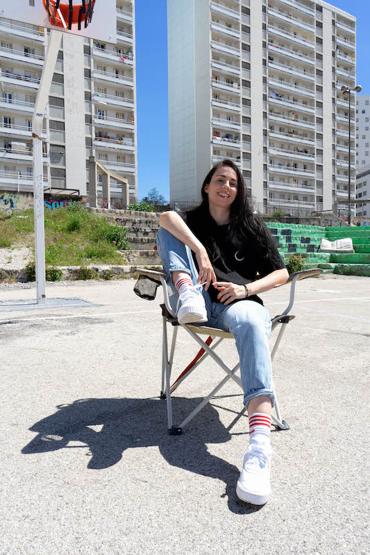 Marina Gomes, chorégraphe de la compagnie Hylel